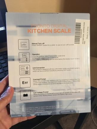 Kitchen Scale 6